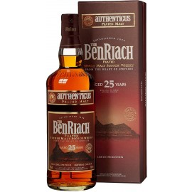 25 anni Authenticus Peated Single Malt Whisky - BenRiach